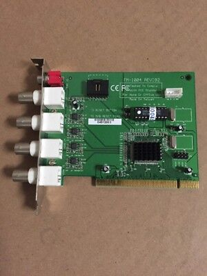 ADR FM-1004 4 Channel Composite PCI Video Capture DVR Card CCTV Security (Security Pci Capture Card)