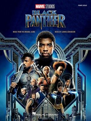 Black Panther Sheet Music from the Marvel Studios Movie Score Piano 000276433