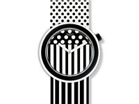 Swatch Popdancing Black and White Strap Unisex brand new