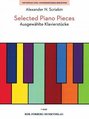 Selected Piano Music - Selected Piano Pieces Sheet Music Piano Solo Book NEW 050602065