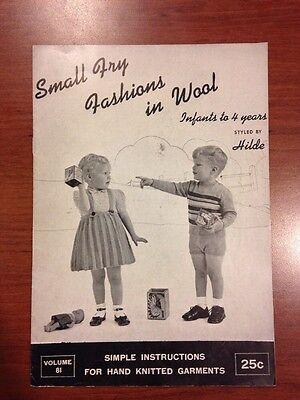 Винтажные Hilde Fuchs Small Fry Fashions