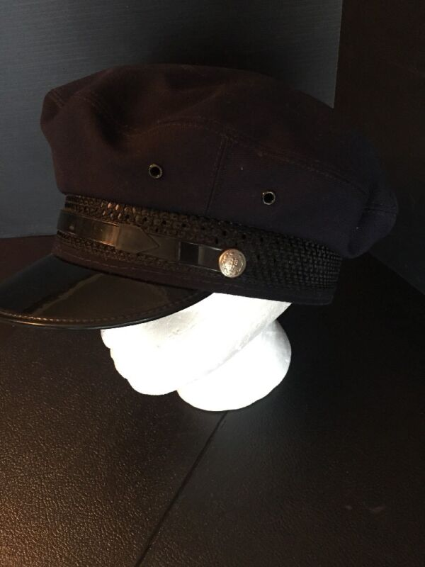B27) VERY RARE Vintage BPOE Elks Lodge Uniform Cap/hat Only w/ Attached Buttons