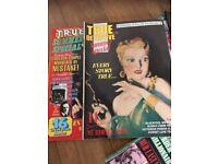 Vintage True Detective/ Master Detective / Magazines x 73 plus Extras