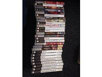 bundle of 27 psp games