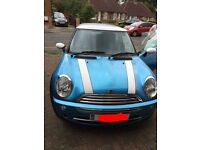 55 plate Mini Cooper for sale, excellent condition and 2 owners