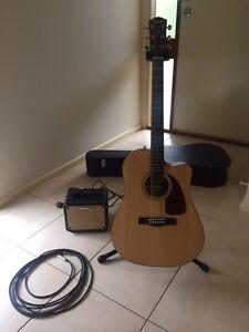 Fender acoustic guitar Nuriootpa Barossa Area Preview