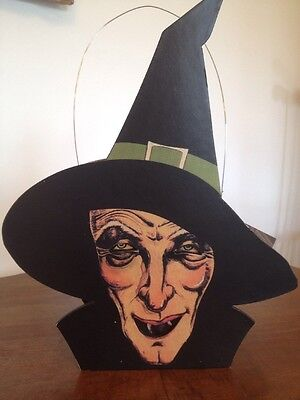 Bethany Lowe Halloween Wicked Witch Lantern--retired--Votive Light Included