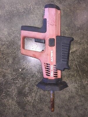 Hilti Dx750 Powder Actuated Concrete Nailer