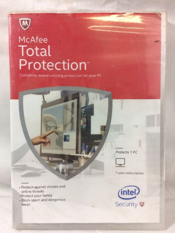McAfee Total Protection 2015 (3-User) Windows MTP15EAM3RAA