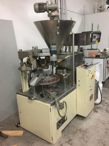 12 Station UNIPAC Comet Matic Tube Filler