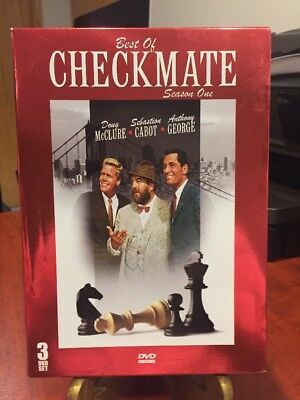 Best of Checkmate Season 1 (DVD, 2008, Foil) 3 DVD Set,McClure,Cabot, George/LN!