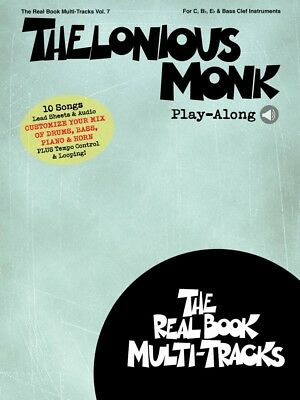 Thelonious Monk Play-Along Sheet Music Real Book Multi-Tracks Volume 7 000232768