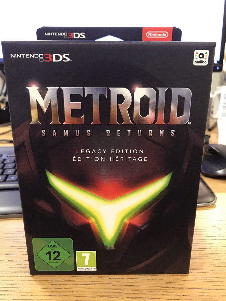 Metroid: Samus Returns - Collectors Legacy Edition - Nintendo 3DS Game NEW SEALED RARE Steelbook