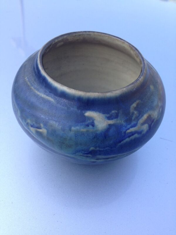 Newcomb College Art Pottery Bowl Vase 1900