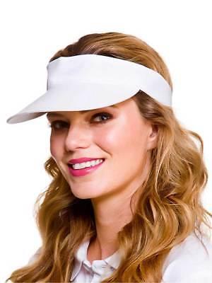Adult Golf Sun Visor Fancy Dress Sport Tennis Poker Cap Mens Womens Hat - Women's Golf Kostüm