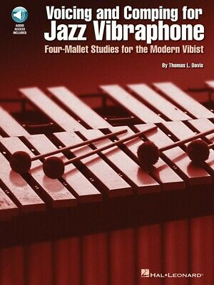 Voicing and Comping for Jazz Vibraphone Percussion Book and Audio 006620019