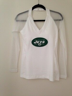 All Sport Couture NFL Team Apparel Women White Shirt M Nwt