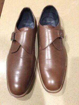 Joseph Abboud Collection - New Joseph Abboud Collection Monk Strap Mens Size 11 Brown Shoes