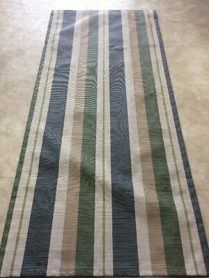 Striped Replacement Patio Chair Sling One Only ()
