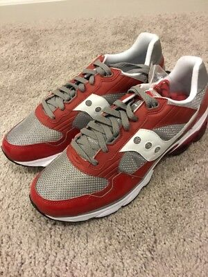 Saucony Shadow 2010 Shoes Sneakers New 70060-2 Size 13 red grey 5293177868