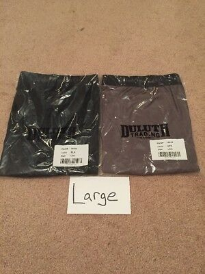 Duluth Trading Co. Men's Buck Naked Performance Boxer Briefs  2Pairs Large