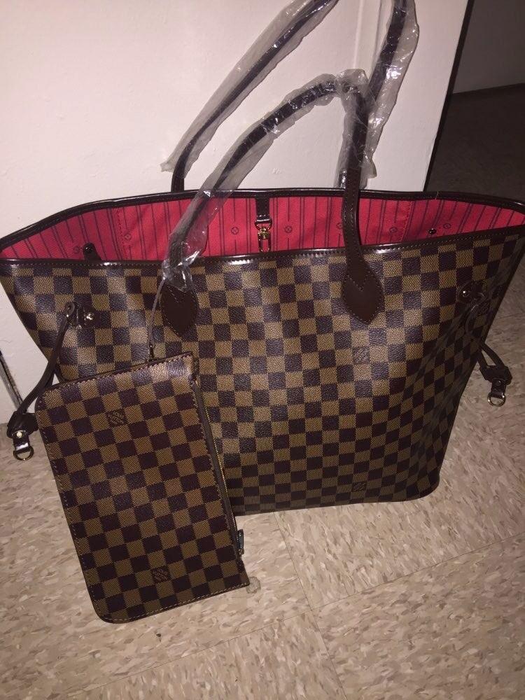 LV Neverfull Bag Handbag Louis Vuitton + Free Pouch   in Broadstone ... 891fd1c6fa