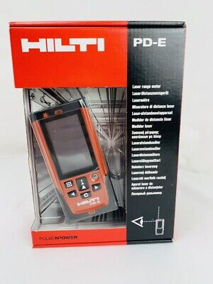Hilti - Pd-e Laser Range Meter W Optical Scope 2062051 - New In Package
