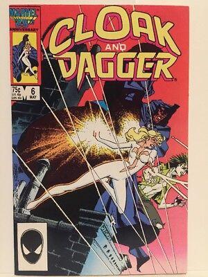 Cloak and Dagger #6 NM Unread 1986 Marvel Comic Book