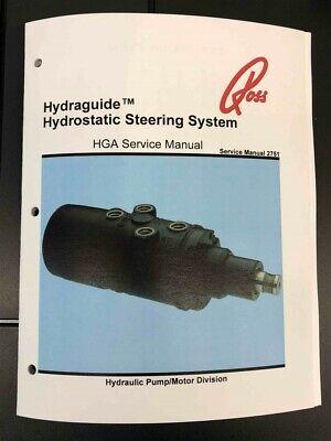Ross Hydrostatic Steering Hga Repair Manual Pettibone Forklift