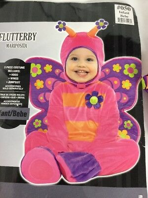 Flutterby Halloween Costume Butterfly Infant J906 size 12-18 months - 12 18 Month Halloween Costumes