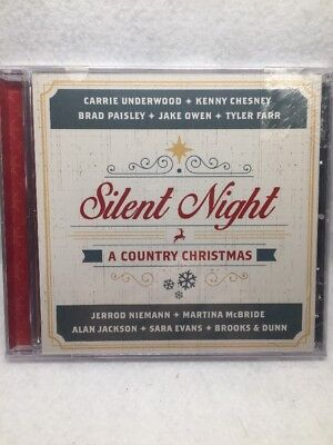 Silent Night - A Country Christmas CD - BRAND NEW!