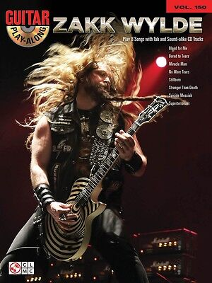 Zakk Wylde Sheet Music Guitar Play Along Book And Cd New 002501717