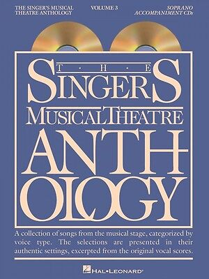 The Singer's Musical Theatre Anthology Volume 3 Soprano CDs Only 000740229