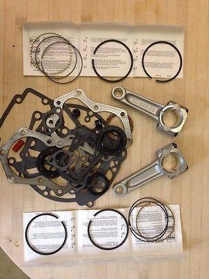 Kohler Kt17 Engine Rebuild Kit  Gasket Set  Std Rings  Standard Rods