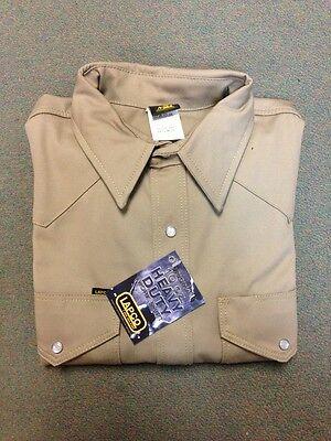 Lapco Welding Shirt Khaki 950-medium 15 X 33