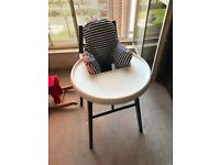 Ikea Blames Highchair - Black - with tray and support cushion