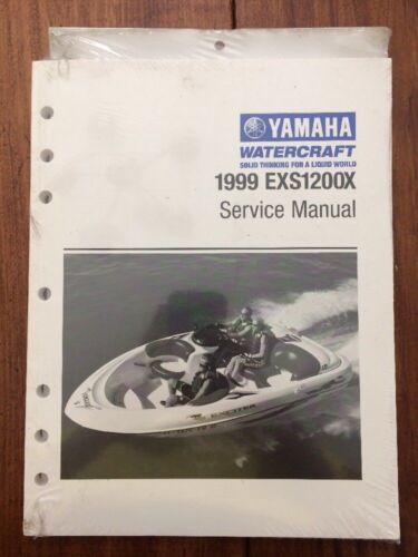 OEM YAMAHA BOAT FACTORY SERVICE MANUAL / Good Condition / 1999 EXS1200X