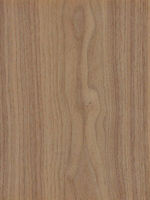 Walnut Wood Veneer Plain Sliced Paper Backer 24 X 42 Sheet