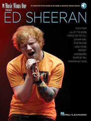 Ed Sheeran Music Minus One Vocals 10 Favorites with Sound-Alike Demo 000275772