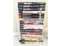 PS3 games Approx £5 each