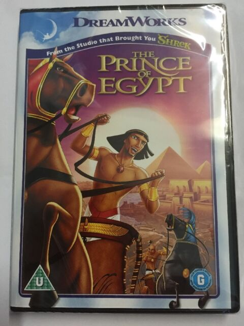 The Prince Of Egypt (DVD, 2012 Edition) PAL Region 2 Brand New And Sealed