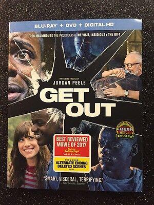 Get Out  Blu Ray Dvd Digital Hd  2017  New   Oscar Winner Best Orig  Screenplay