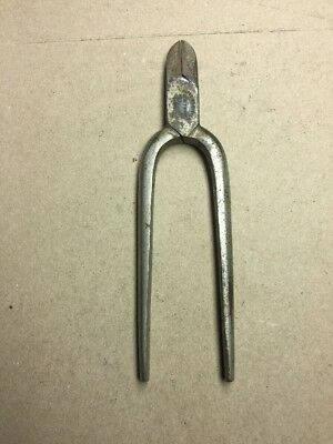 Vintage Diagonal Cutting Plier Superior Caststeel G M T & Bro Germany
