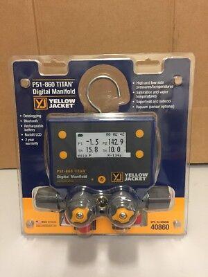 Yellow Jacket P51-860 Titan Digital Manifold 40860