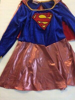 Girls Size 6 Super Man Costume - Superman Costume Girls