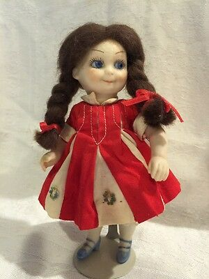 Armand Marseille German Bisque 11/0 Googly Eye Doll 6""