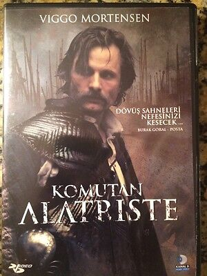 Komutan Alatriste (2006 DVD Turkish - Viggo Mortensen)
