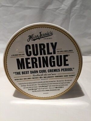 NEW Miss Jessie's Curly Meringue The Best Darn Curl Cremes Period 8
