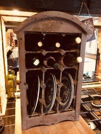 Plate rack wine rack