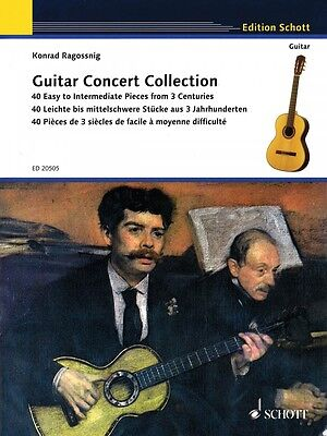 Guitar Concert Collection Sheet Music 40 Easy to Intermediate Pieces 049017732